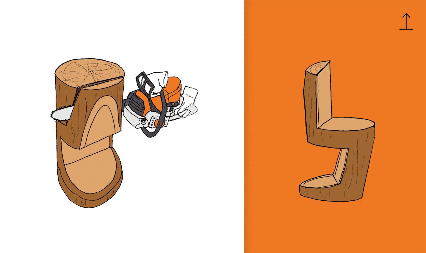 Cum faci un scaun din lemn masiv decupat – GHID PAS CU PAS